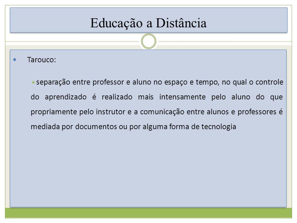 Educação a Distância Tarouco: