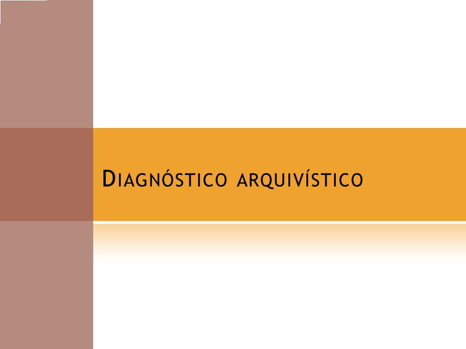 Diagnóstico arquivístico