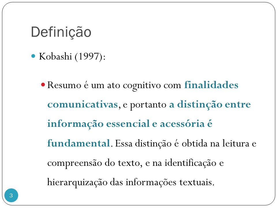 Definição Kobashi (1997):