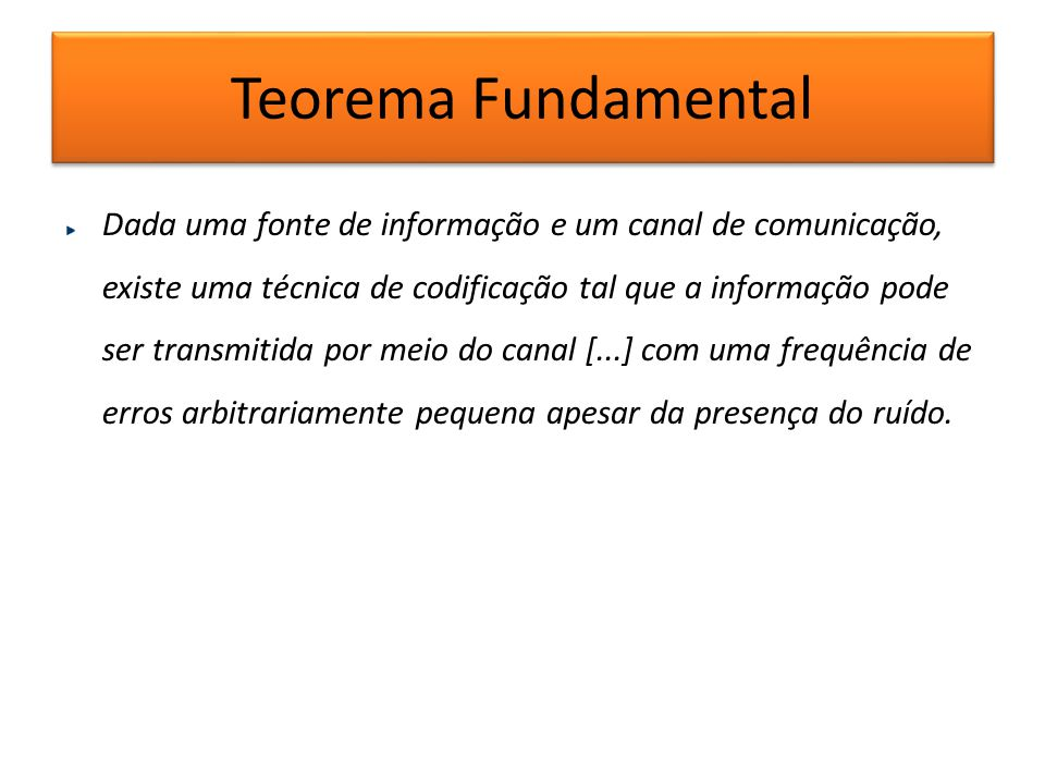 Teorema Fundamental