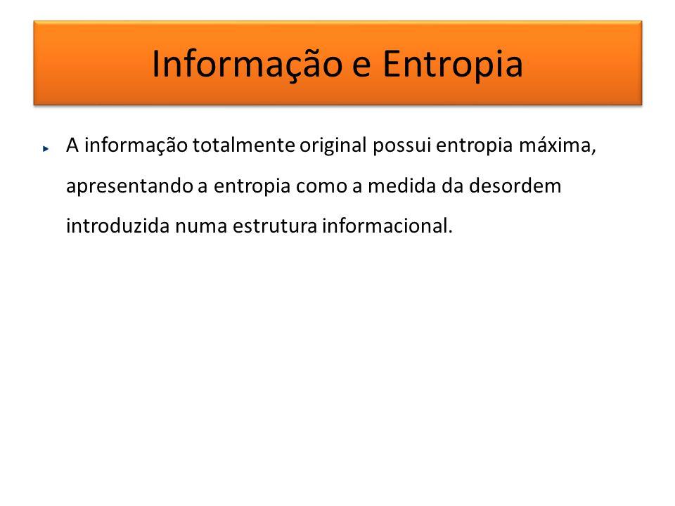 Informação e Entropia