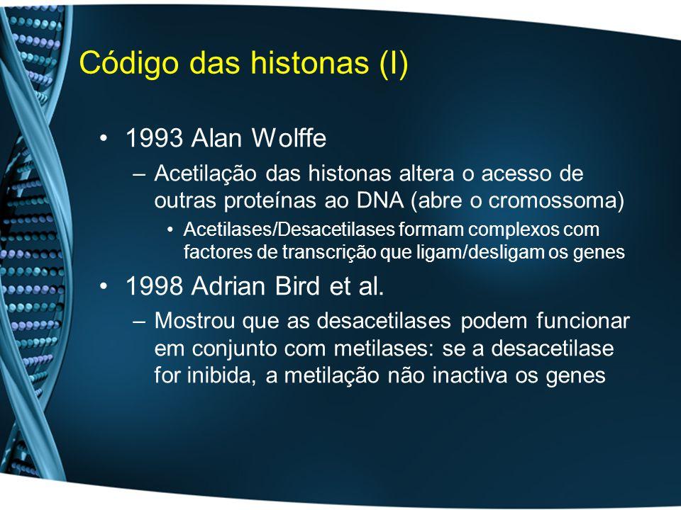 Código das histonas (I)