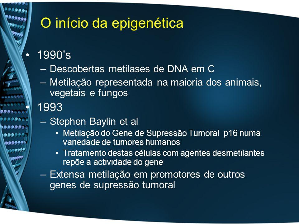 O início da epigenética