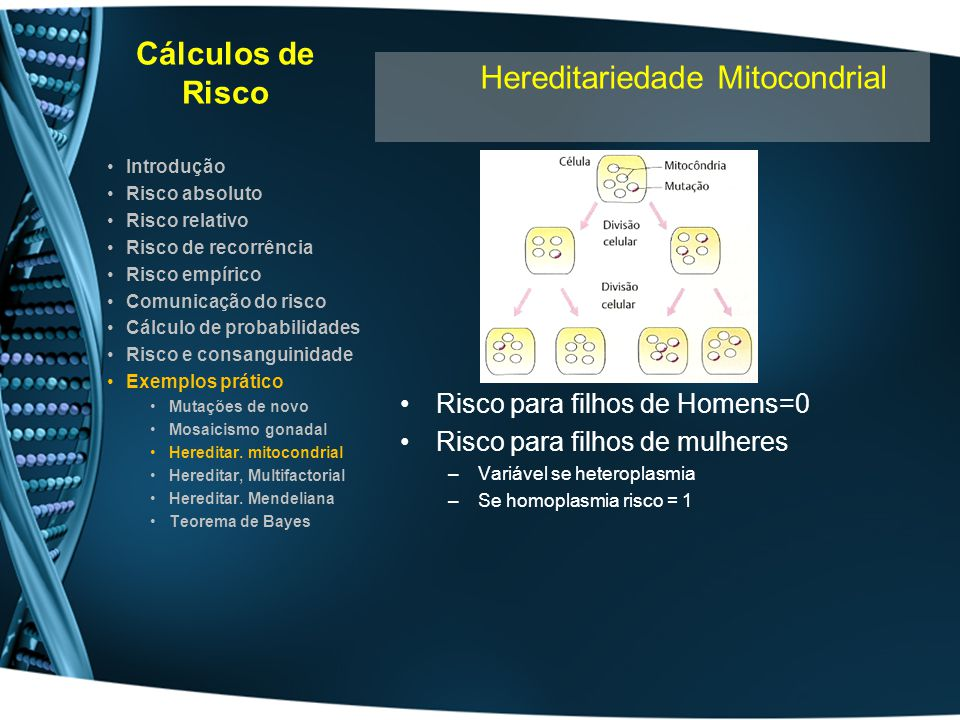 Hereditariedade Mitocondrial