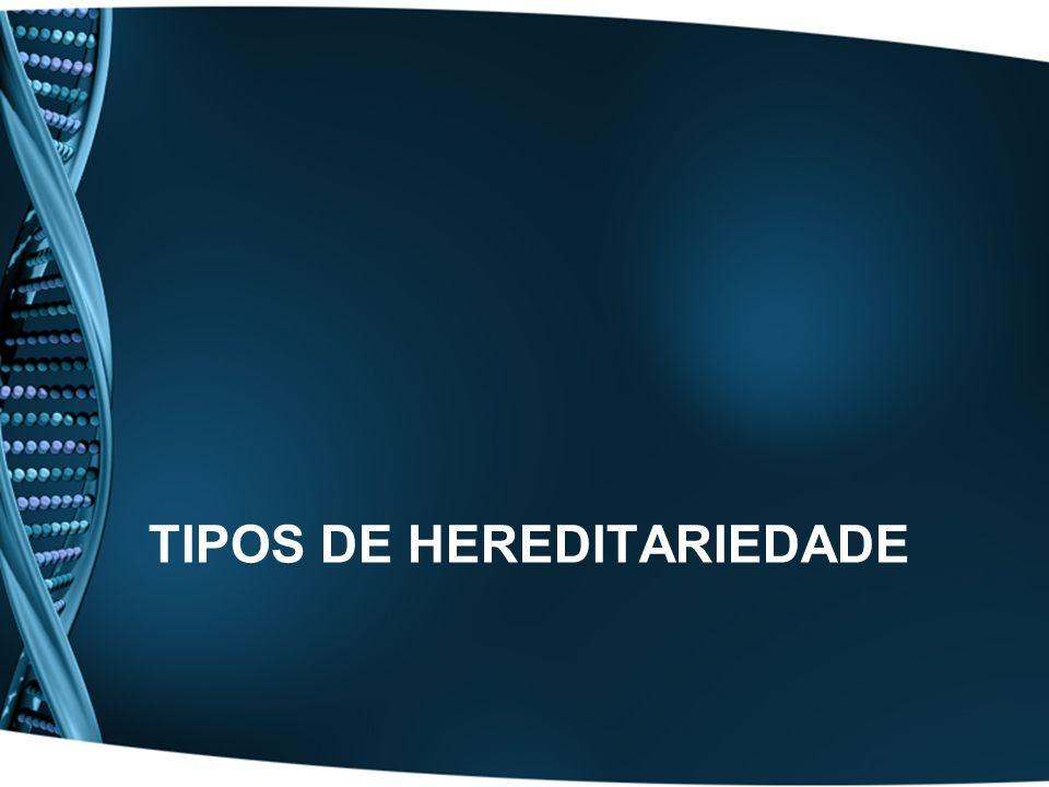 Tipos de Hereditariedade