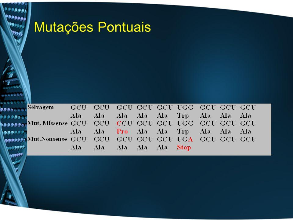 Mutações Pontuais