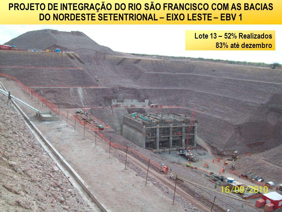 PROJETO DE INTEGRAÇÃO DO RIO SÃO FRANCISCO COM AS BACIAS DO NORDESTE SETENTRIONAL – EIXO LESTE – EBV 1