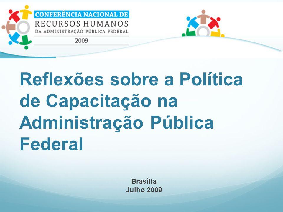 Reflexões sobre a Política de Capacitação na Administração Pública Federal