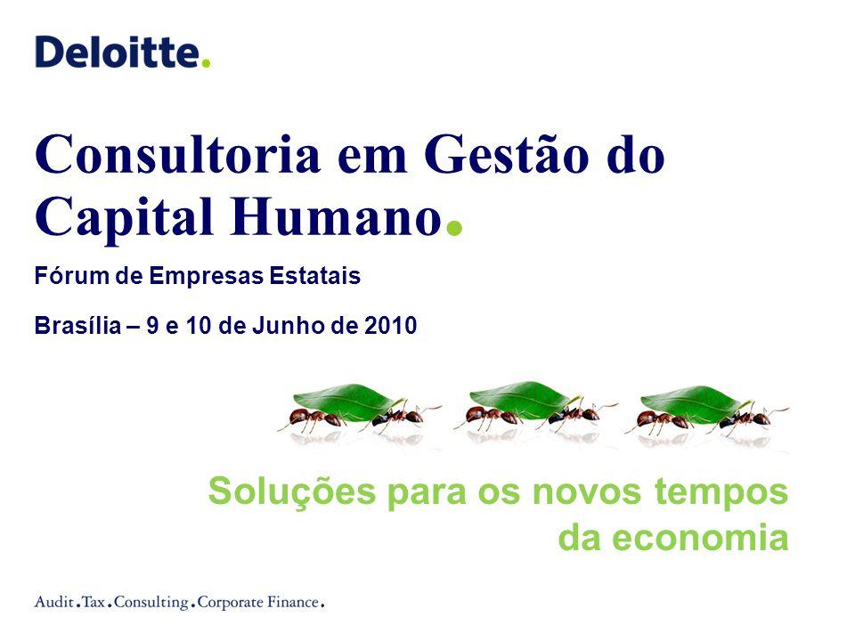 Consultoria em Gestão do Capital Humano.