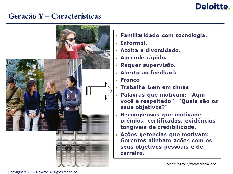 Geração Y – Características