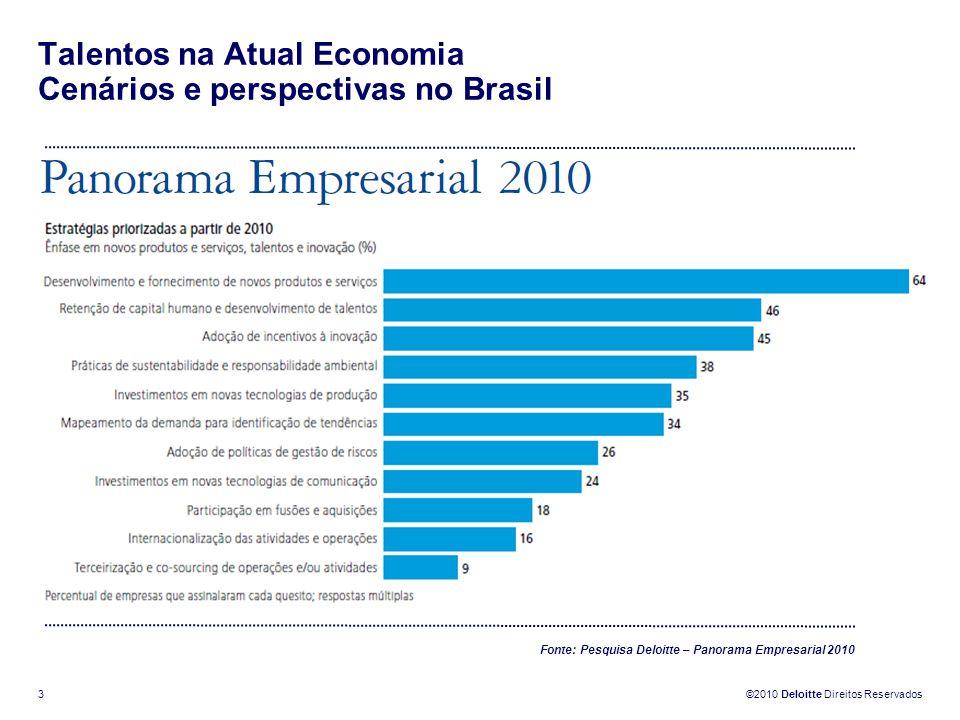 Talentos na Atual Economia Cenários e perspectivas no Brasil