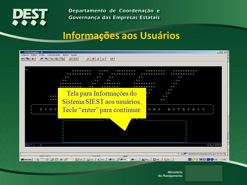 Informações aos Usuários