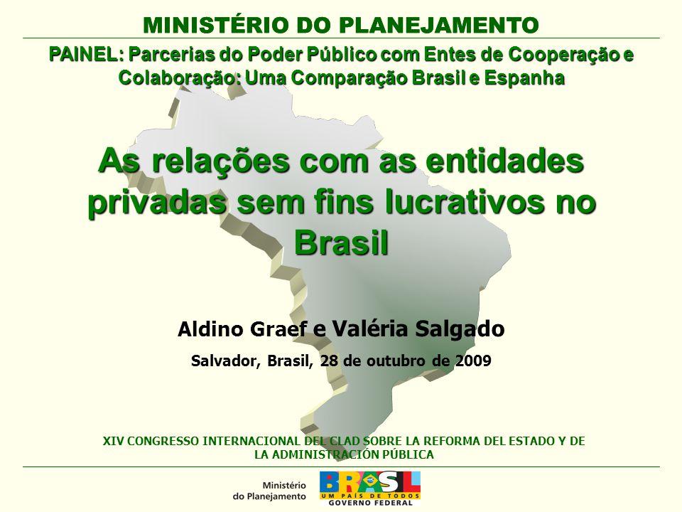 As relações com as entidades privadas sem fins lucrativos no Brasil