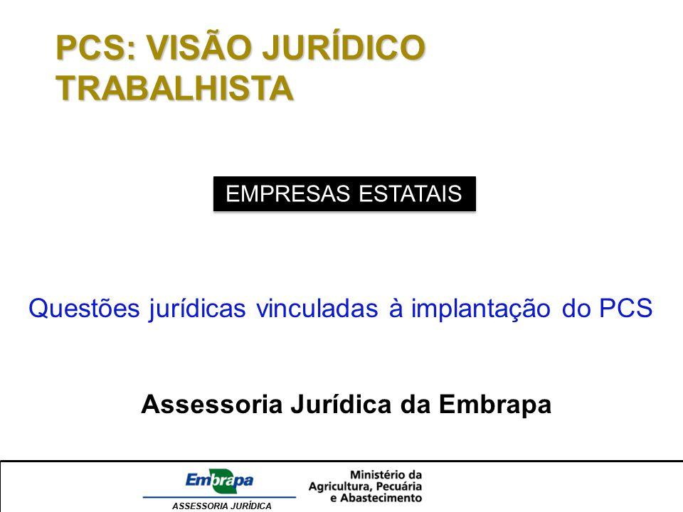 Assessoria Jurídica da Embrapa