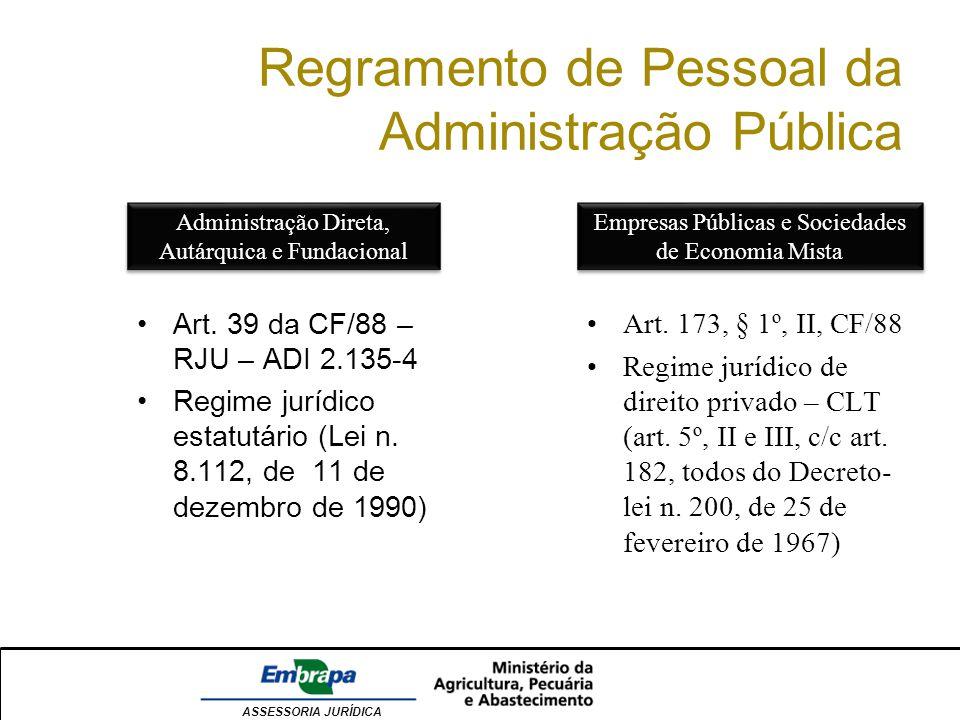 Regramento de Pessoal da Administração Pública