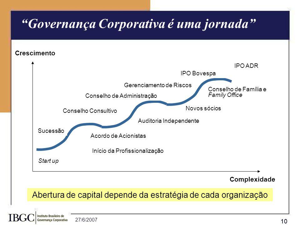 Abertura de capital depende da estratégia de cada organização