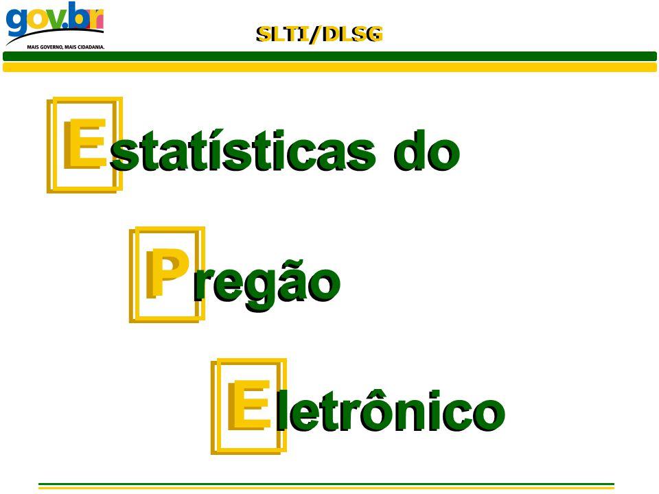 E statísticas do P regão letrônico