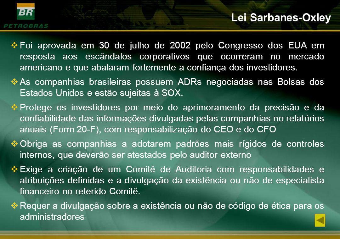 Lei Sarbanes-Oxley