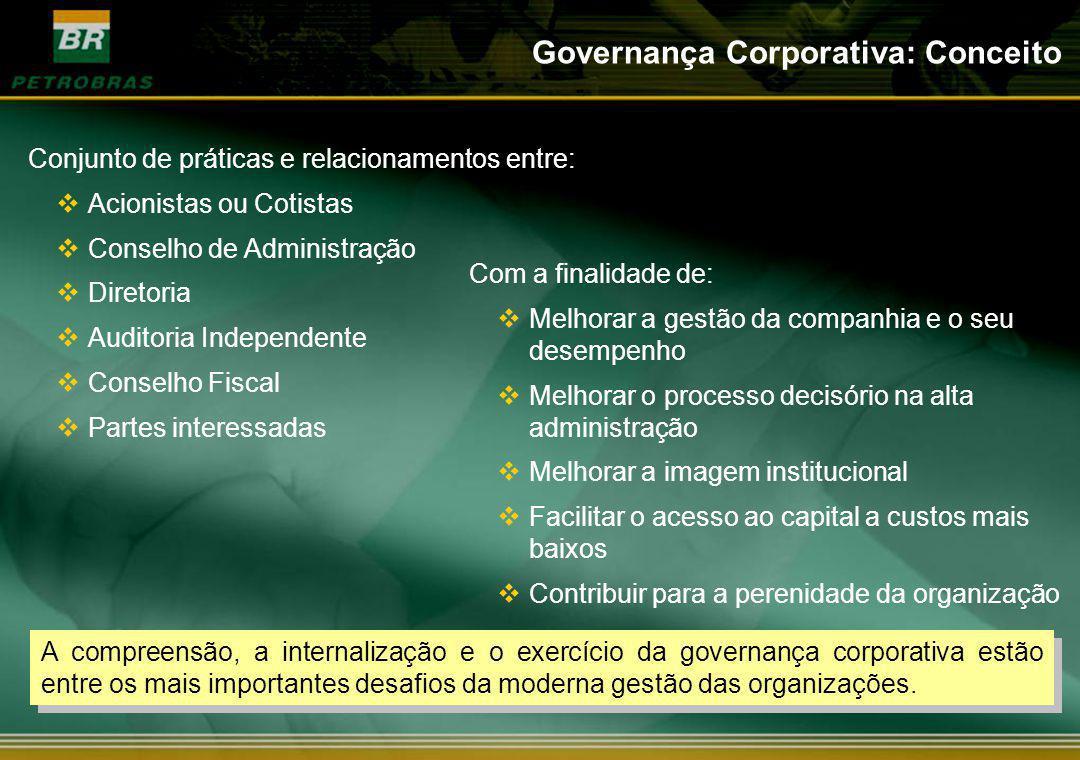 Governança Corporativa: Conceito