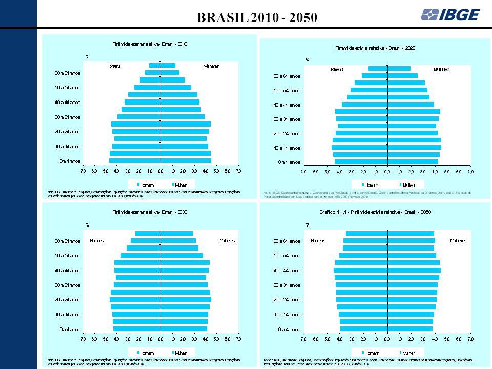 BRASIL 2010 - 2050