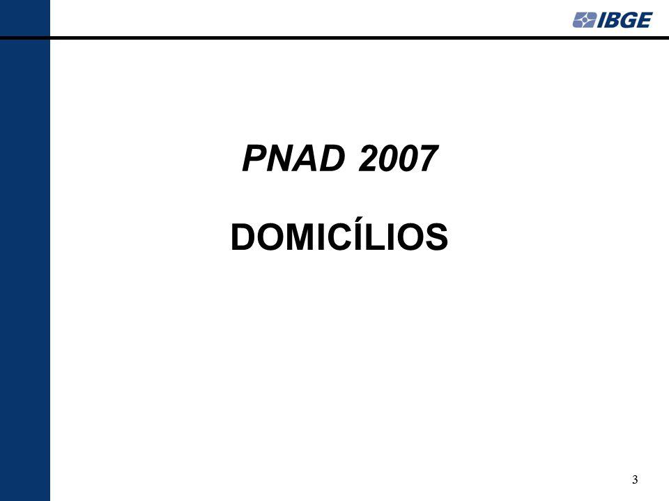PNAD 2007 DOMICÍLIOS 3 3