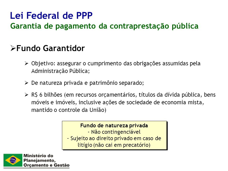 Fundo de natureza privada