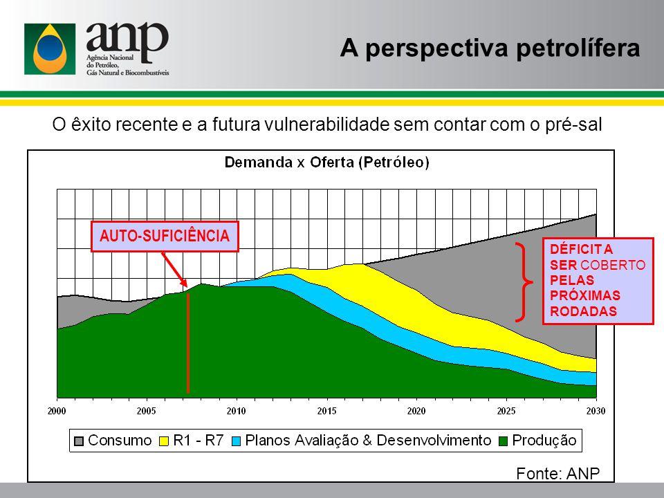 A perspectiva petrolífera