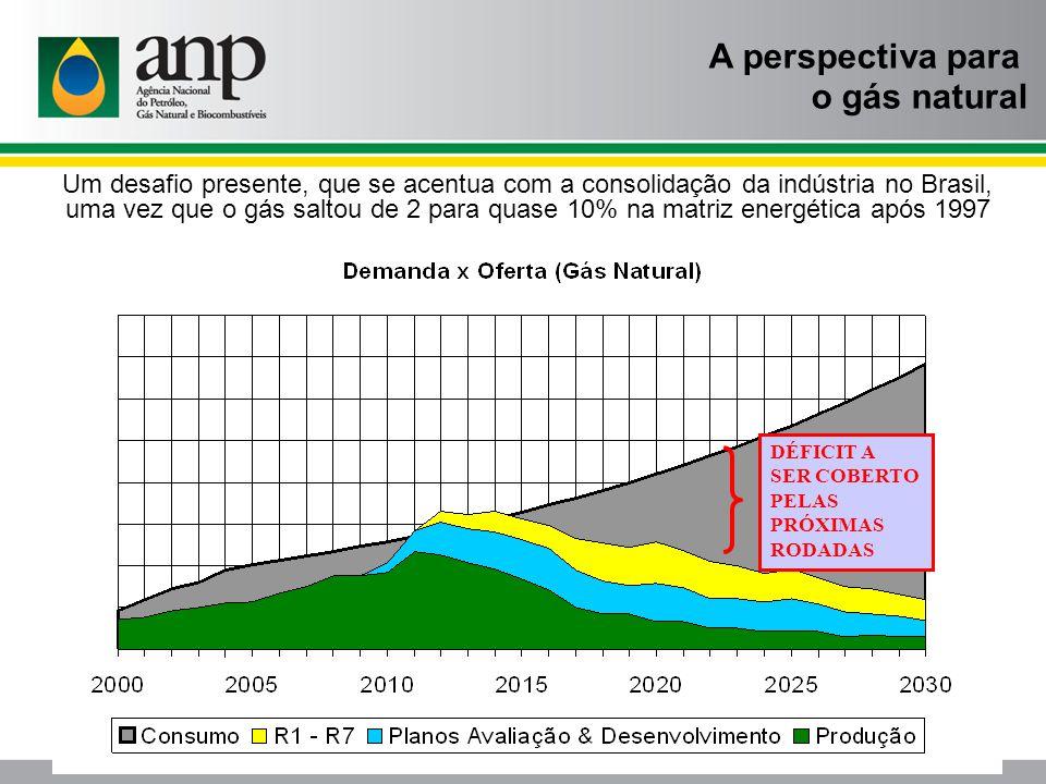 A perspectiva para o gás natural