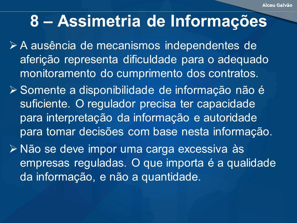 8 – Assimetria de Informações