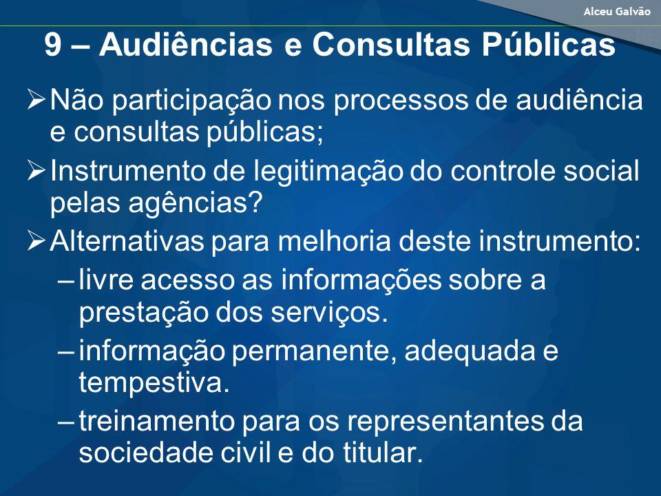9 – Audiências e Consultas Públicas