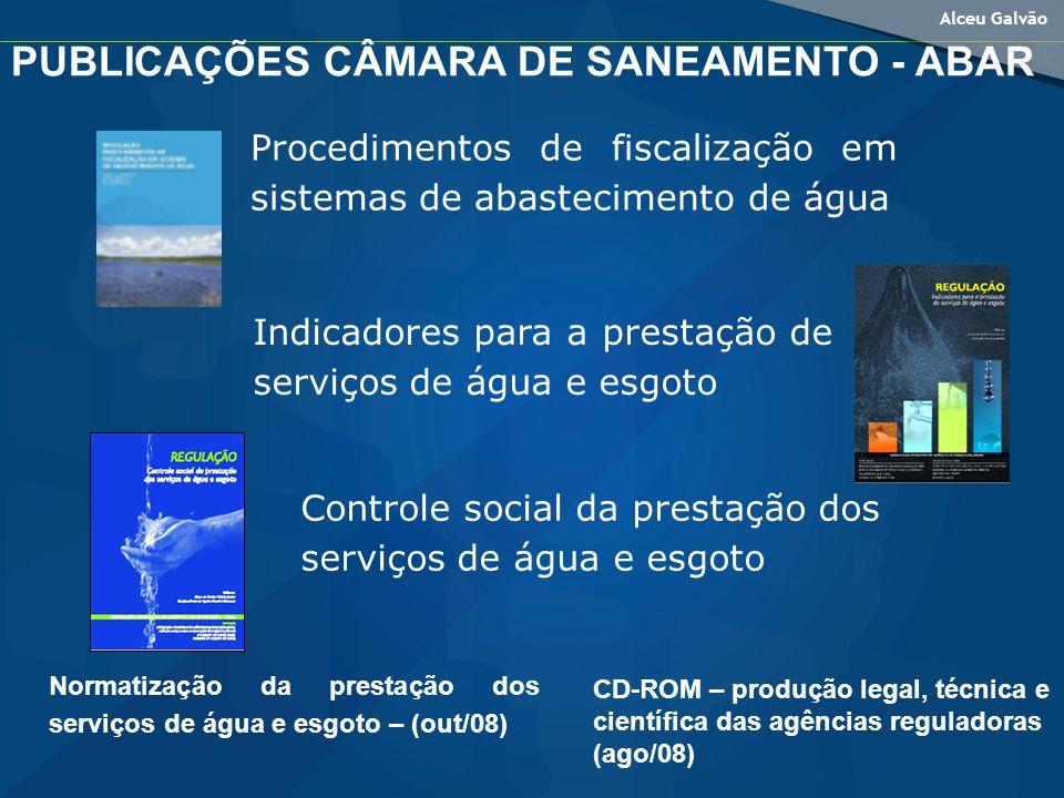 PUBLICAÇÕES CÂMARA DE SANEAMENTO - ABAR
