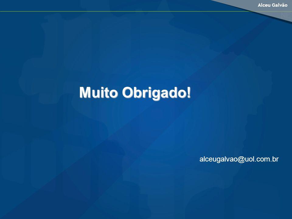 Muito Obrigado! alceugalvao@uol.com.br