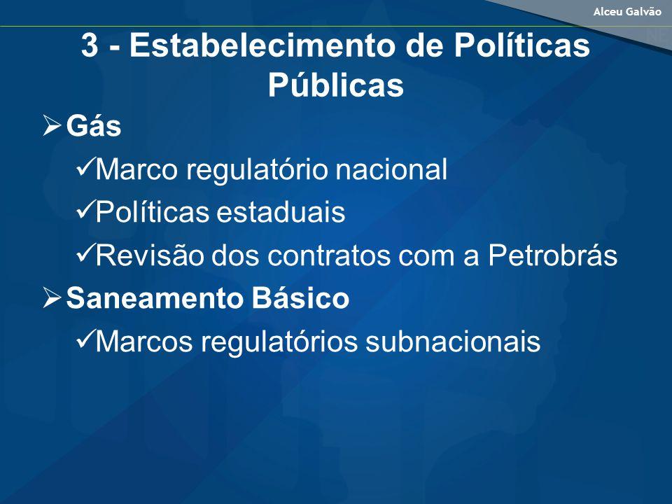 3 - Estabelecimento de Políticas Públicas