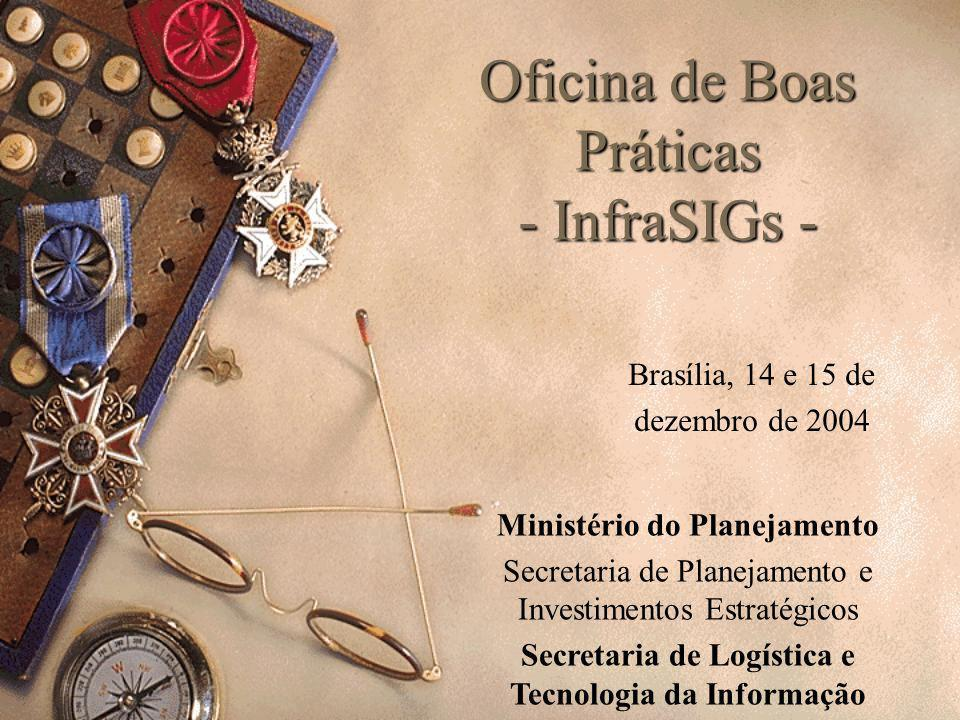 Oficina de Boas Práticas - InfraSIGs -