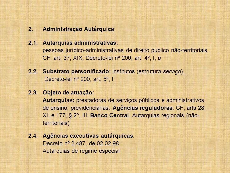 2. Administração Autárquica