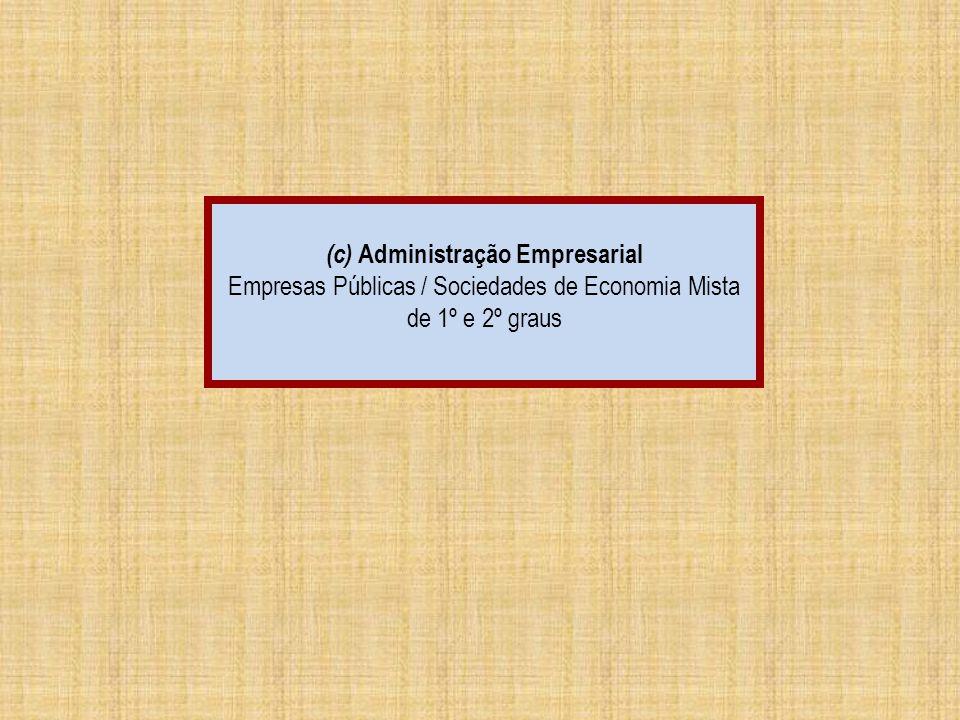 (c) Administração Empresarial
