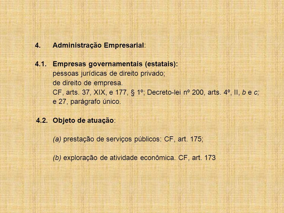 4. Administração Empresarial: