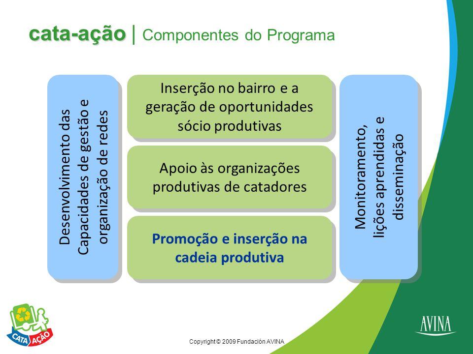 cata-ação | Componentes do Programa