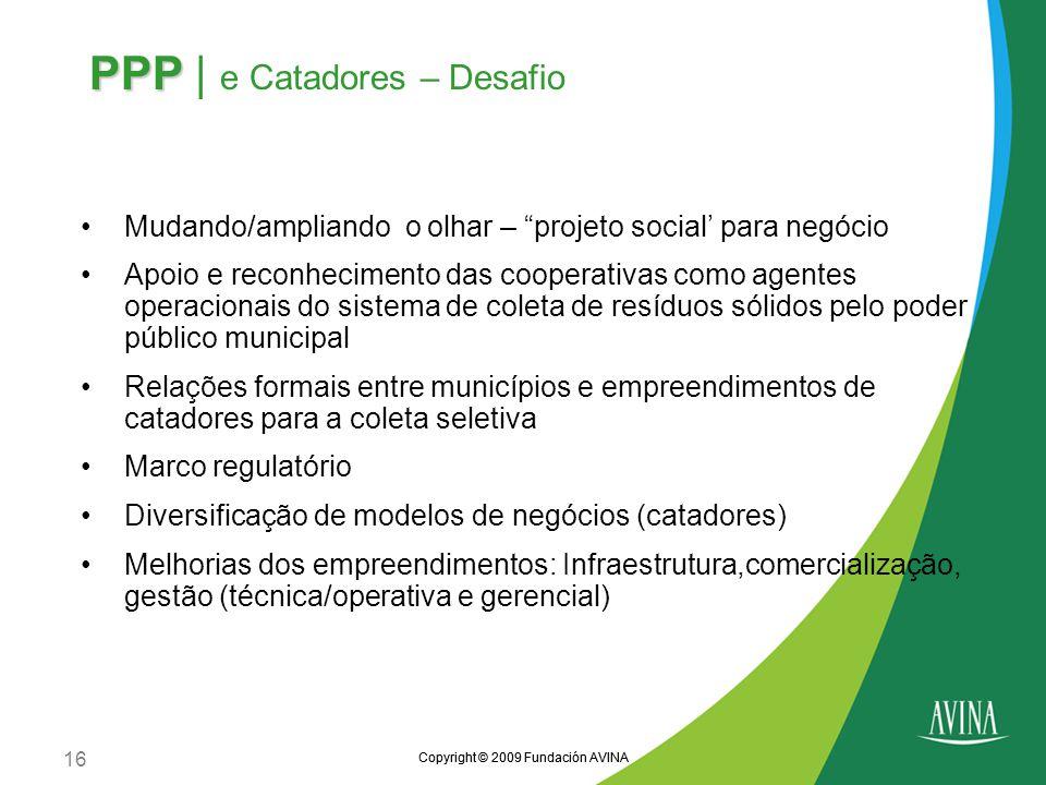 PPP | e Catadores – Desafio
