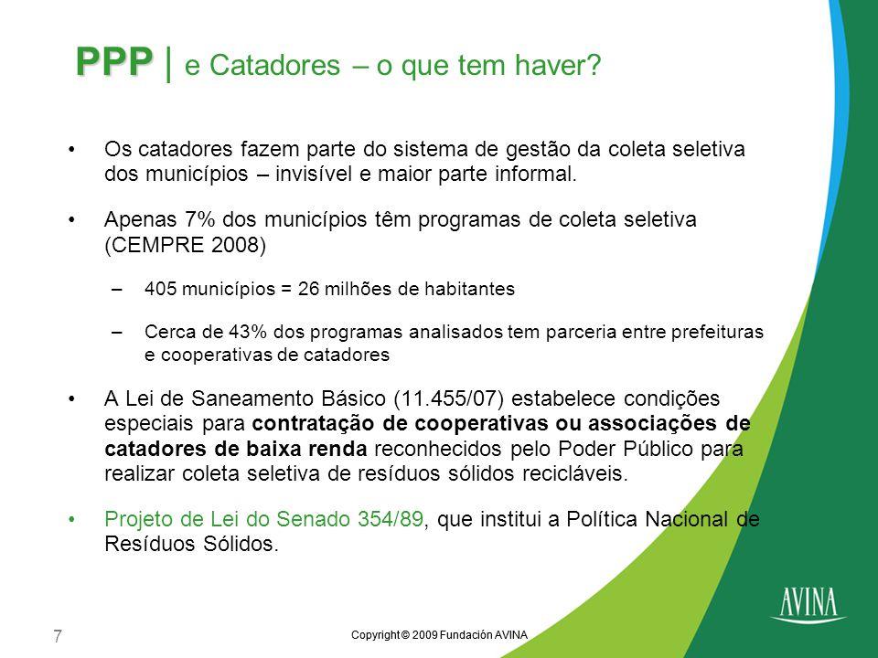 PPP | e Catadores – o que tem haver