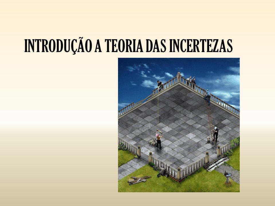 INTRODUÇÃO A TEORIA DAS INCERTEZAS