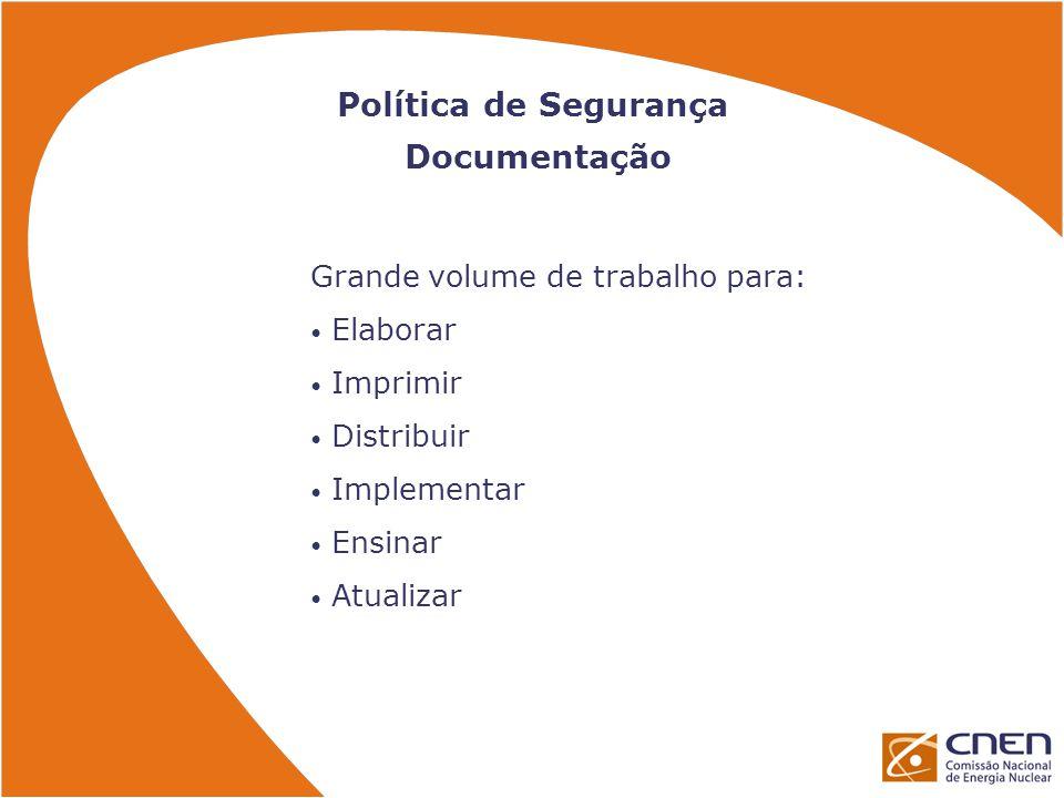 Política de Segurança Documentação