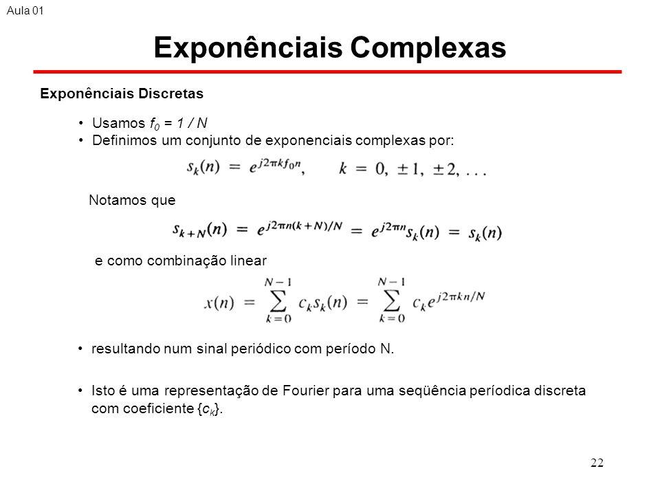 Exponênciais Complexas