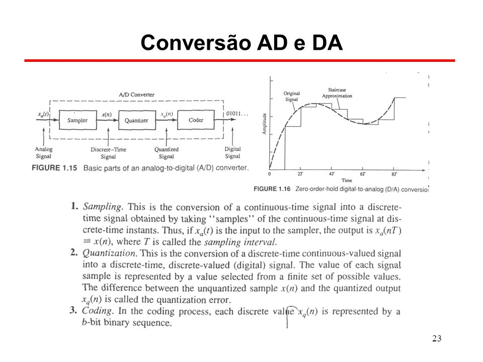 Conversão AD e DA