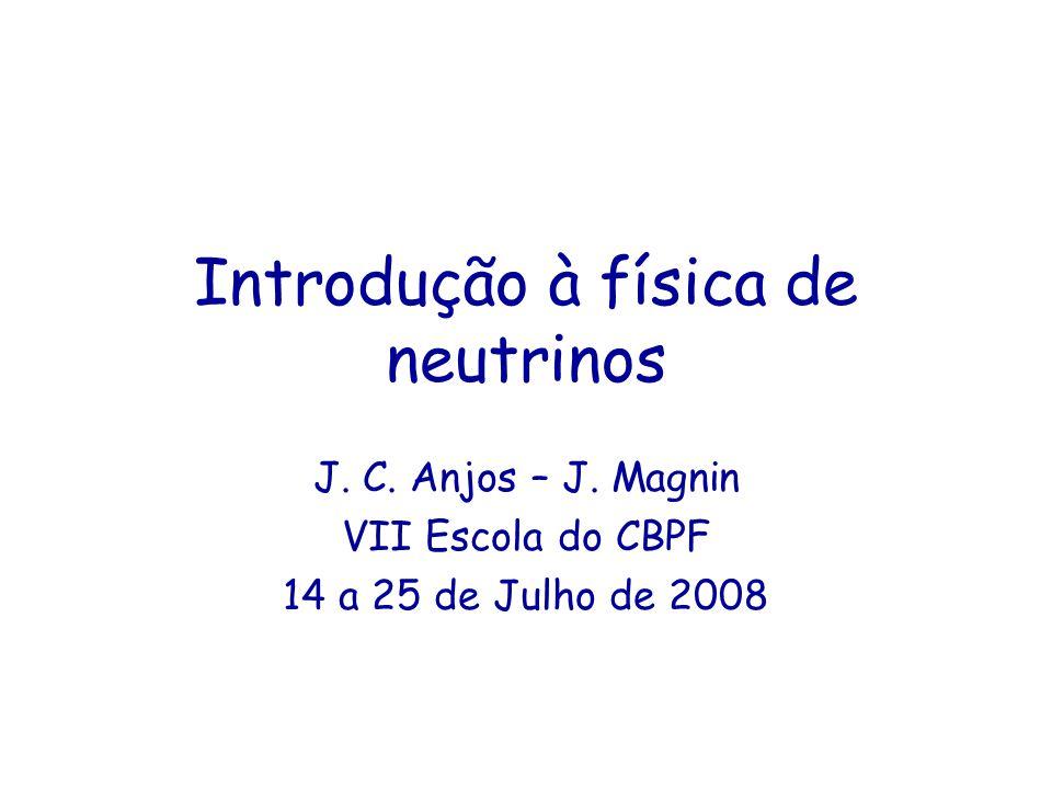 Introdução à física de neutrinos