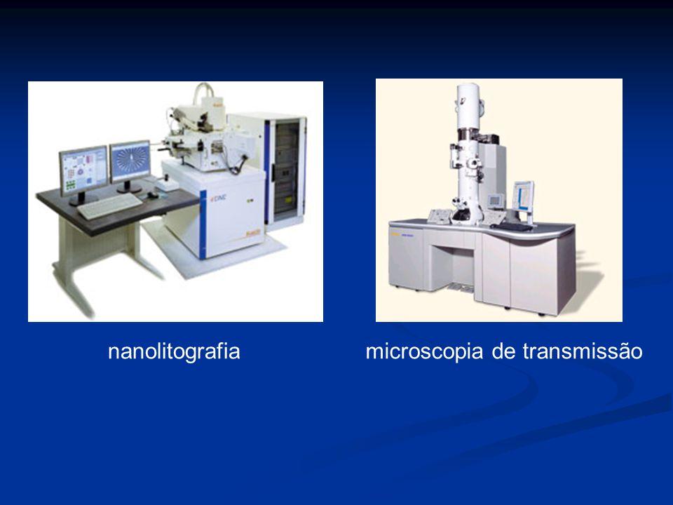 nanolitografia microscopia de transmissão