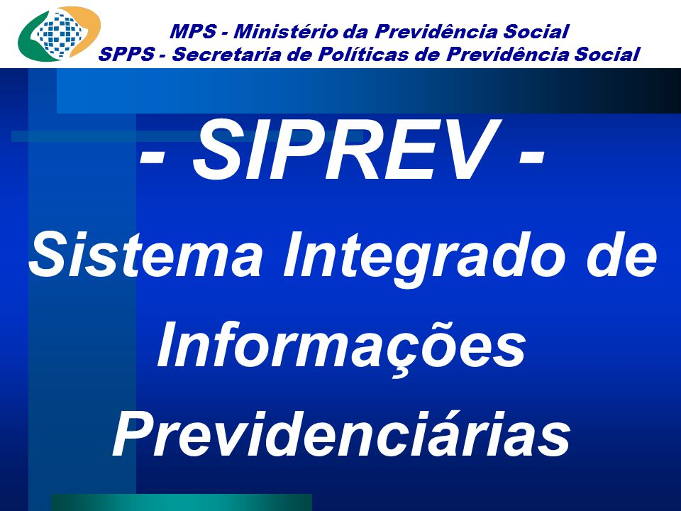 Sistema Integrado de Informações Previdenciárias