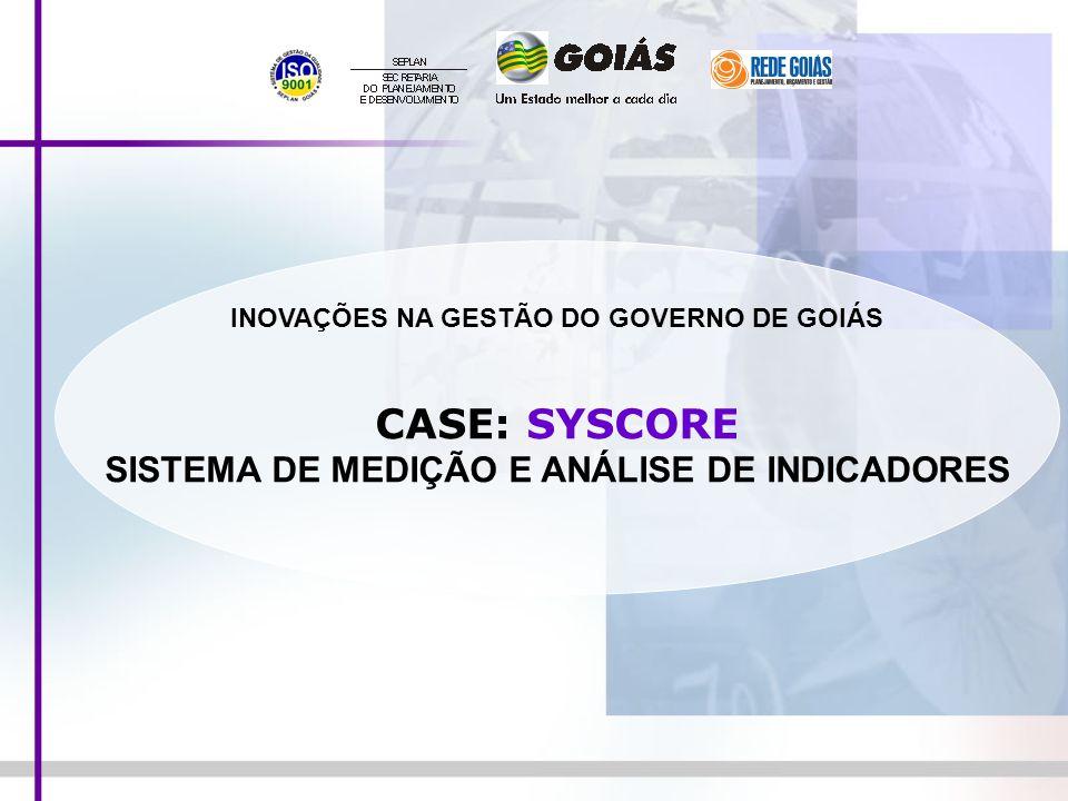 CASE: SYSCORE SISTEMA DE MEDIÇÃO E ANÁLISE DE INDICADORES