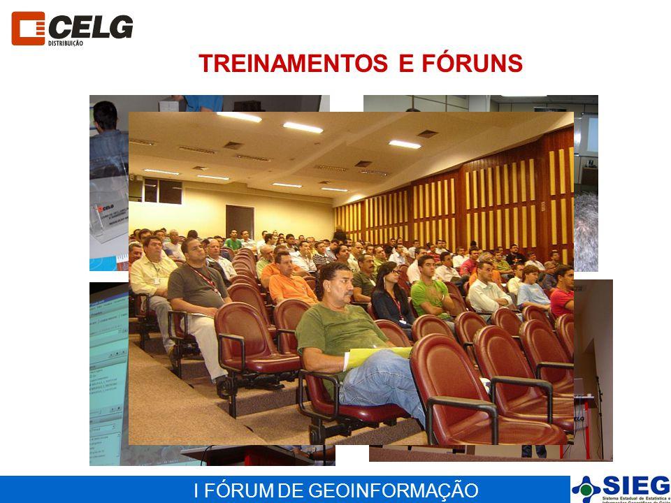 TREINAMENTOS E FÓRUNS