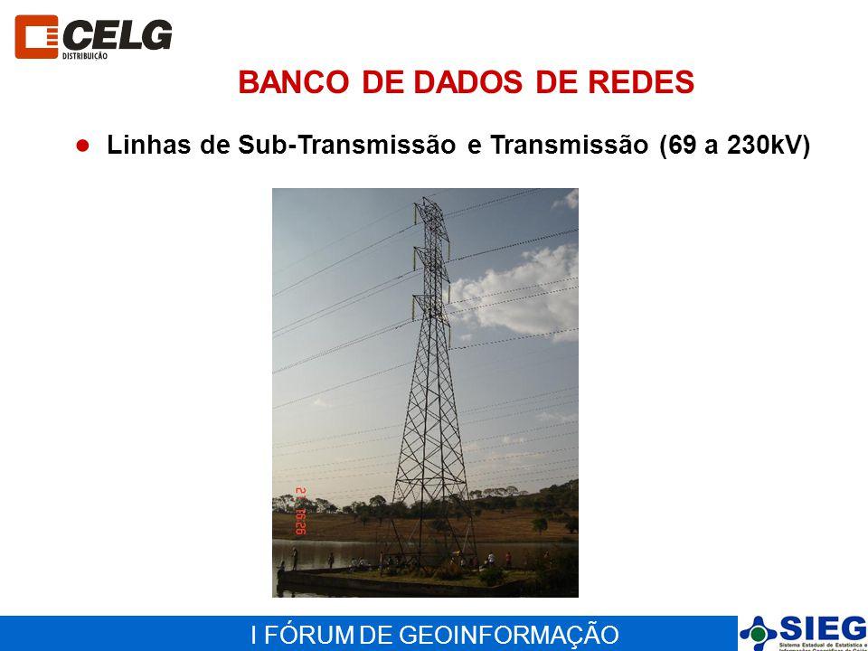 BANCO DE DADOS DE REDES Linhas de Sub-Transmissão e Transmissão (69 a 230kV)